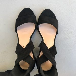 Shoe Dazzle Shoes - Brand new lace up heels
